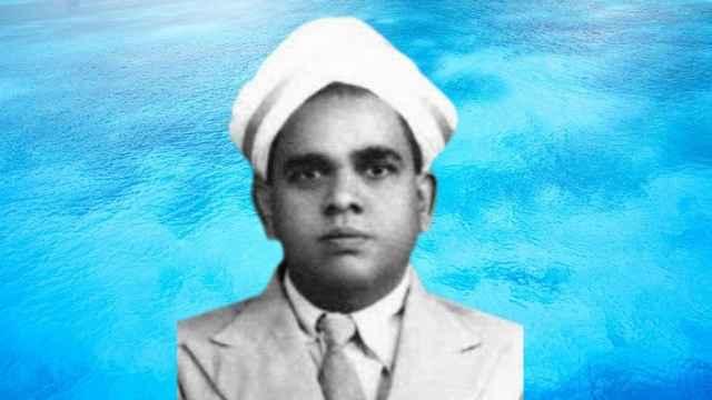 Mathematician AA Krishnaswami Ayyangar
