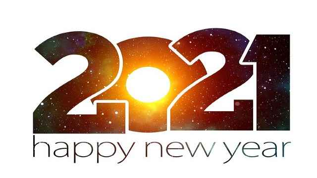Happy New Year For 2021