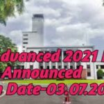 JEE Advanced 2021 Exam Date Announced