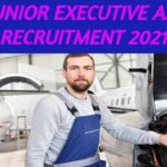 Junior Executive AAI Recruitment 2021