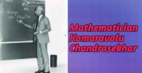 Mathematician Komaravolu Chandrasekhar