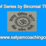 Sum of Series by Binomial Theorem