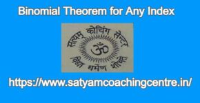 Binomial Theorem for Any Index