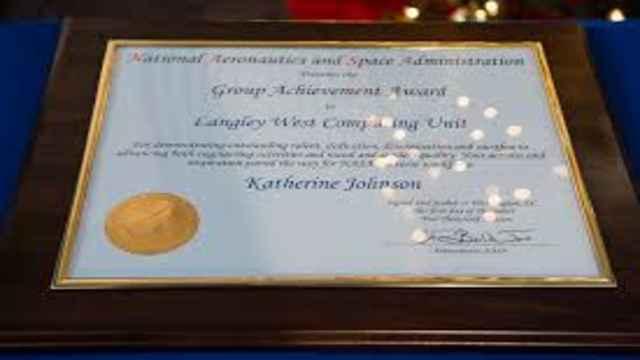 Black Mathematician Katherine Johnson,Hidden Figures Ceremony