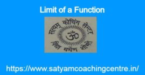 Limit of a Function