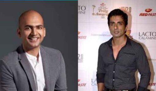 Mi and Sonu ShikshaHarHaath Initiative,Mi IndiaMD Manu Kumar Jain And Film Actor Sonu Sood