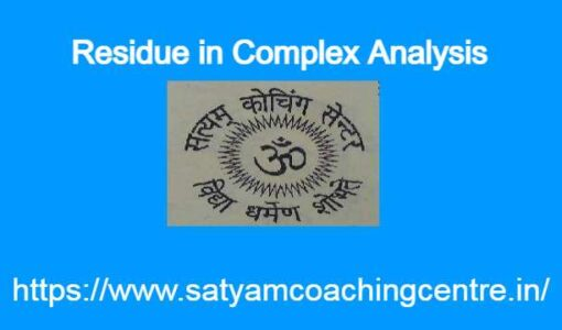 Residue in Complex Analysis