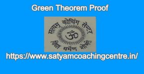 Green Theorem Proof