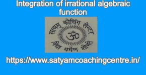 Integration of irrational algebraic function