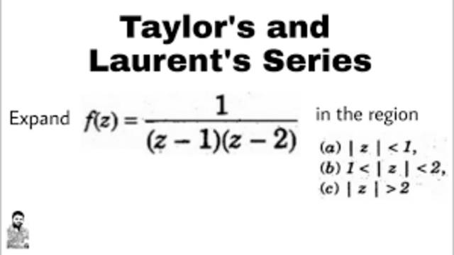Laurent expansion of analytic function