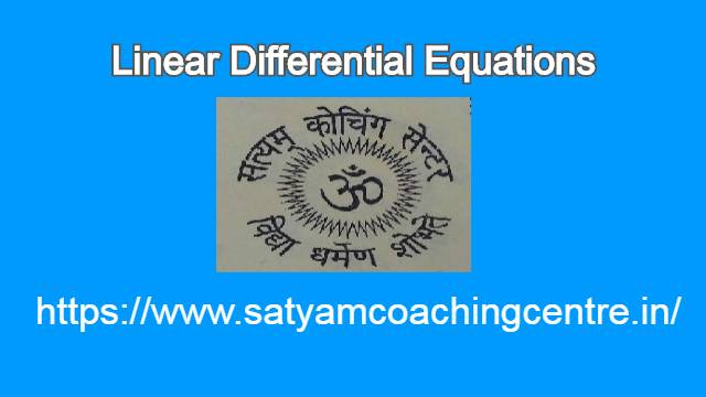 Linear Differential Equation