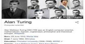 Mathematician Alan Mathison Turing
