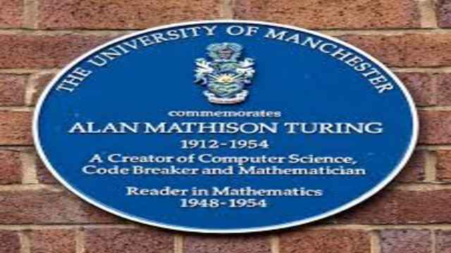 Mathematician Alan Mathison Turing