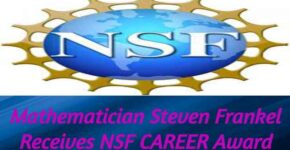 Mathematician Frankel NSF CAREER Award