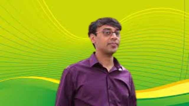 Fields Medal winner Manjul Bhargava