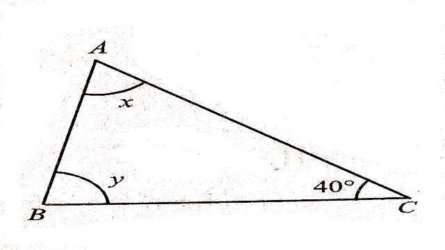 What Are The Angles Of A Triangle